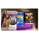 Hair removal system, dog collar, photo paper
