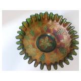 """Vintage Leaf Bowl 7 1/2"""""""