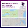 Kenai Peninsula Borough 2021 Land Sale Live-Online Auction