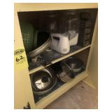 In Kitchen Items in 2 Cabinets & 2 Drawers