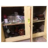 In Kitchen Items in 5 Cabinets & 3 Drawers