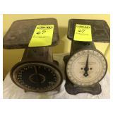 2 Vintage Scales,Columbia Family & Montogmery Ward