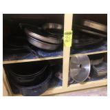 Items in 2 Kitchen Cabinets- Pots, Pans,