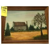 5 Oil Paintings (1 By Anne Murray)
