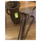 Basket of Walking Canes