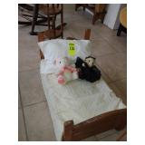 Hand Made Baby Doll Bed