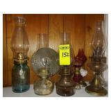 7 Oil Lamps