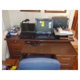 Dell Laptop, Dell Computer Desk Top, Desk & Chair