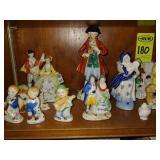 24 pcs. Occupied Japan Figurines