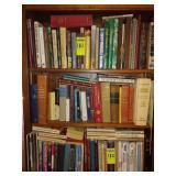 3 Shelves of Books - Lots of Religious Books