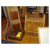 Wooden Stool, Wooden Shelf, Wooden Mail Holder,