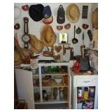 Contents of Wall, Shelves and Cabinets, Misc