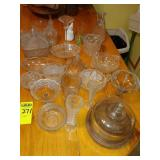 24 pcs. Glassware