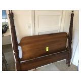 Mahogany Bed (No Rails)