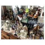 Christmas Display Misc. 50 plus items