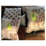 2 Boxes of Pillows
