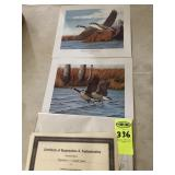 Canada Geese Prints by R.L. Kothenbeutel,