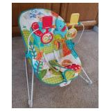 BABY BOUNCY SEAT WITH MOBILE