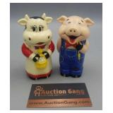 Salt & Pepper - Battery Operated Cow & Pig makes