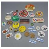 Misc. Group of Patches, Pins, Tokens & Magnets