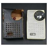 Vintage TR180 Transistor Radio -untested couple of