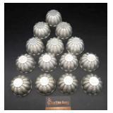 Vintage Aluminum Jell-O Molds