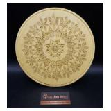 """Hand-made Carved Wood Trivet/Wall Decor 10"""""""