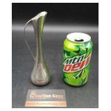 Silverplated Handled Stem Vase