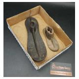 Vintage Cast Iron Shoe Molds