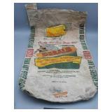 Vintage DeKalb Seed Bag 56 lb 12 of 1957 there is