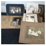 Vintage Flat of Photos Box #1
