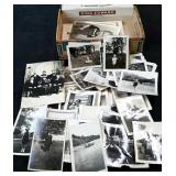 Vintage King Edward Cigar Box Full of Old Photos