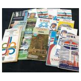 Vintage Lot of Iowa Travel & Advertising Maps