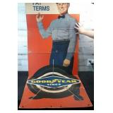 Vintage Goodyear Cardboard Display