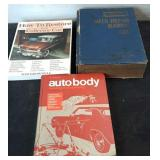 Vintage Lot of Repair Car Manual, Restore Car