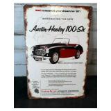 Austin- Healey 100-6 Metal Sign - still wrapped