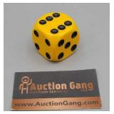 Vintage Shifter Knob - Yellow Dice