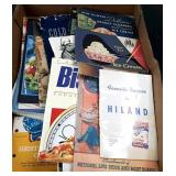 Vintage Lot of Cookbook Box #1