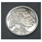 .999 Silver Round - Buffalo Head 1oz