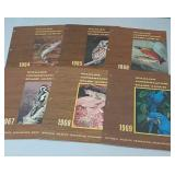 Vintage Wildlife Conservation Stamp Album 1960