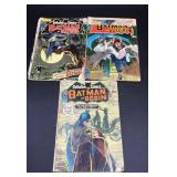 Detective Comics lot of 3- Batman and Batgirl