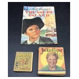 Comics - Misc Books lot of 3 - Treasure Island,