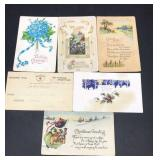 Vintage Paper Goods - Postcards, Greetings,