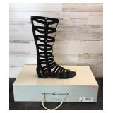 Boots - Marc Fisher Lexxi Black Fabric Women