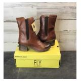 Boots- Fly London Cang719Fly Sebta Tan Women