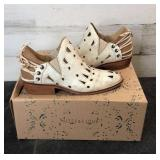 Shoes - Musse & Cloud Coolise Bootie White