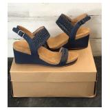 Shoes - Lucky Brand LK-Koenn Indigo Crochet