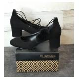 Shoes - Charles David Libby Black Microsuede F