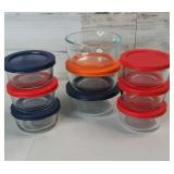 Glass Pyrex Storage Dishes