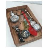 Vintage Flat of Kitchen Items - Bottle Openers